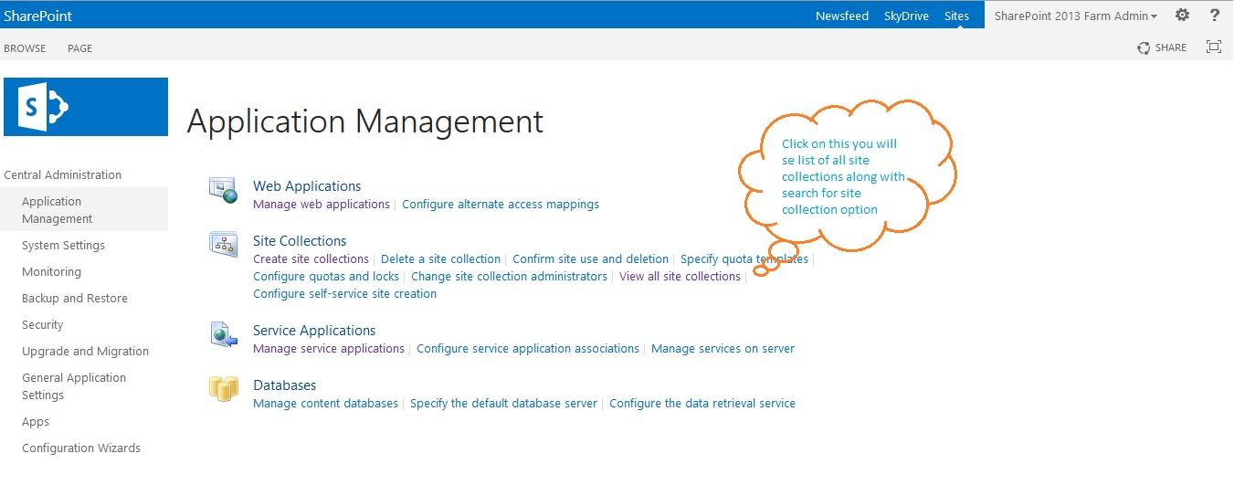 Manage Site Collection Image