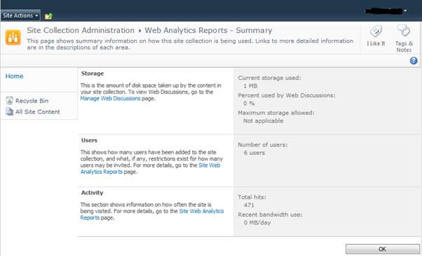 Web Analytics Report Image