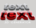 3D TEXT SHADOW GENERATOR